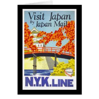 Visit Japan By Japan Mail Card