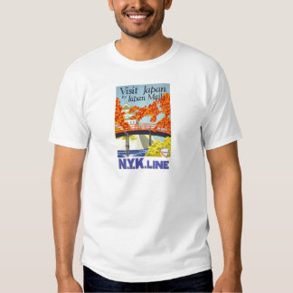 Visit Japan By Japan Mail T-shirt