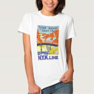 Visit Japan By Mail - N.Y.K. Lines Shirt