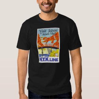 Visit Japan By Mail - N.Y.K. Lines T Shirt