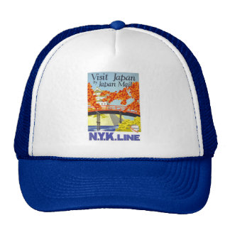 Visit Japan By Mail - N.Y.K. Lines Trucker Hat