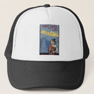 Visit Java Only 36 hours from Singapore Trucker Hat