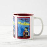 Visit Java ~ Vintage Travel Mug
