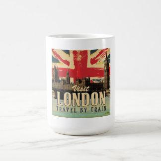 Visit London vintage poster Coffee Mug