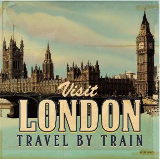 Visit London vintage poster Cutout