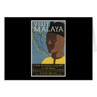 Visit Malaya Greeting Card