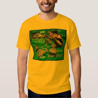 Visit Malaysia T Tee Shirt