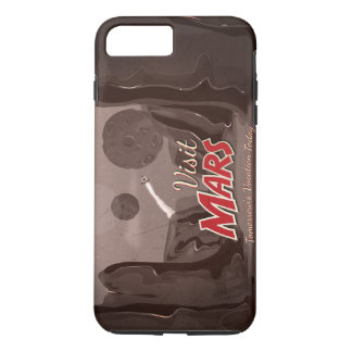 Visit Mars Vintage Poster iPhone 8 Plus/7 Plus Case