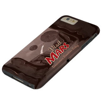 Visit Mars Vintage Poster Tough iPhone 6 Plus Case