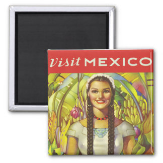 Visit Mexico Magnets