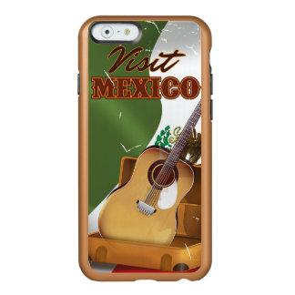Visit Mexico vintage travel poster Incipio Feather® Shine iPhone 6 Case