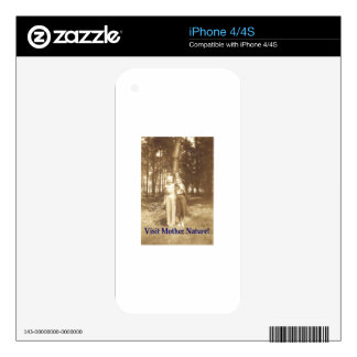 Visit Mother Nature! iPhone 4S Decal