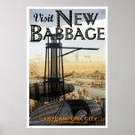 Visit New Babbage (No. 4) Print