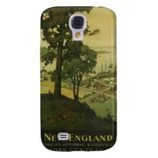 Visit New England Vintage Poster Samsung S4 Case