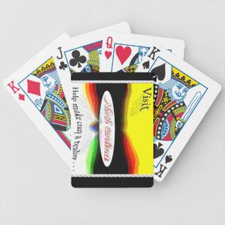 Visit North Carolina! Help make crazy a reality! Bicycle Playing Cards