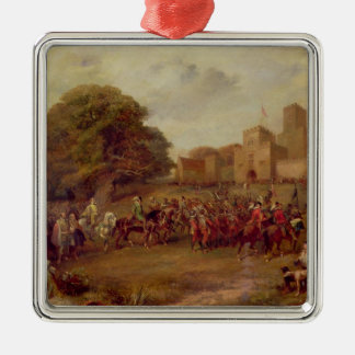 Visit of James I to Houghton Tower Metal Ornament