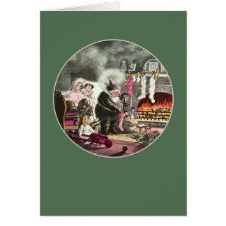 Visit of St. Nicholas Card