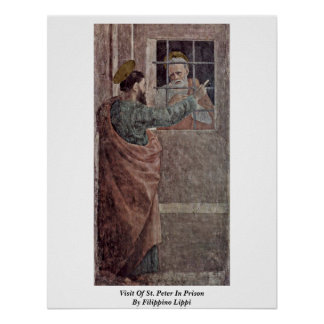 Visit Of St Peter In Prison By Filippino Lippi Posters