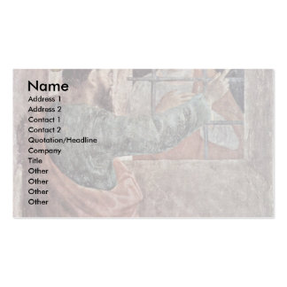 Visit Of St. Peter In Prison By The St. Paul Double-Sided Standard Business Cards (Pack Of 100)