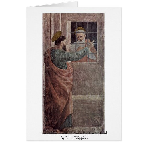 Visit Of St. Peter In Prison By The St. Paul Card