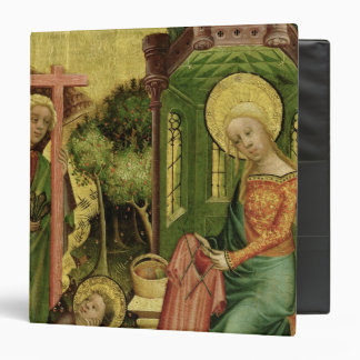 Visit of the Angel, from the right wing 3 Ring Binder