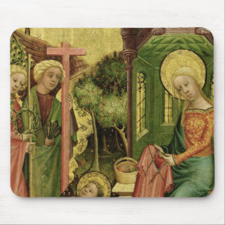 Visit of the Angel, from the right wing Mouse Pad