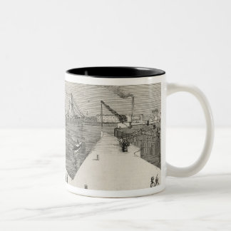 Visit of the Viceroy of India Two-Tone Coffee Mug