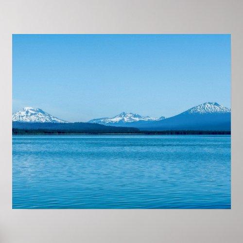 Visit Oregon // Blue Lakes and Snowy Peaks