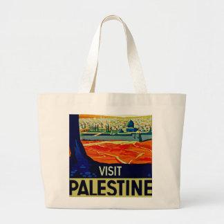 Visit Palestine Jumbo Tote Bag