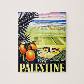 Visit Palestine Beauty Revived Jigsaw Puzzle