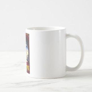 Visit Palestine Holy Land Vintage Travel Art Classic White Coffee Mug