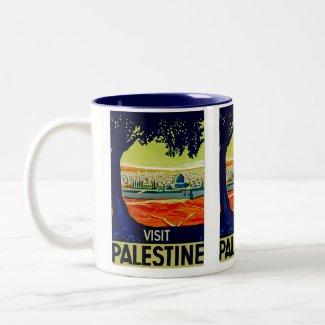 Visit Palestine mug
