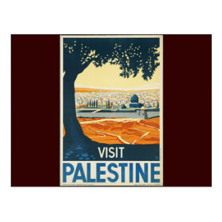 Visit Palestine Postcard