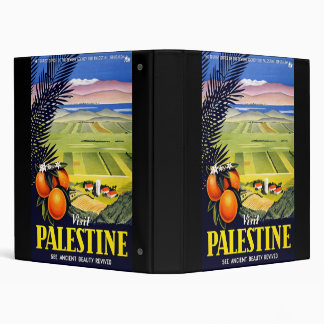 Visit Palestine See Ancient Beauty Revived 3 Ring Binder