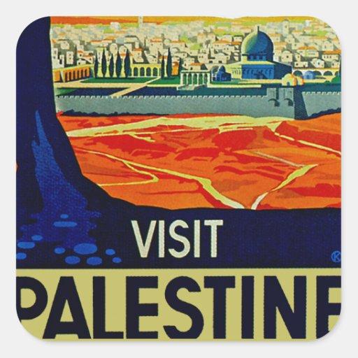 Visit Palestine Stickers