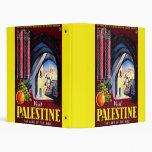 Visit Palestine The Land Of The Bible Vinyl Binders