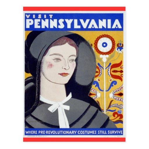 Visit Pennsylvania Post Card