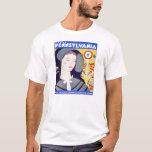 Visit Pennsylvania - Vintage Poster T-Shirt