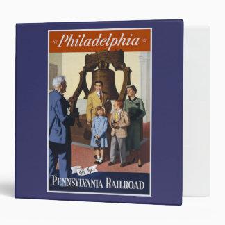 Visit Philadelphia on The Pennsylvania Railroad Binders