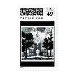 Visit Philadelphia on the Pennsylvania Railroad Postage Stamp