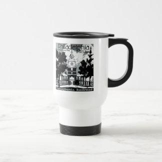 Visit Philadelphia on the Pennsylvania Railroad Travel Mug