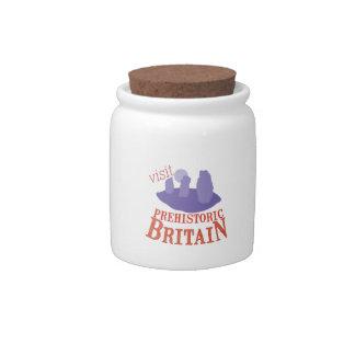 Visit Prehistoric Britain Candy Jars