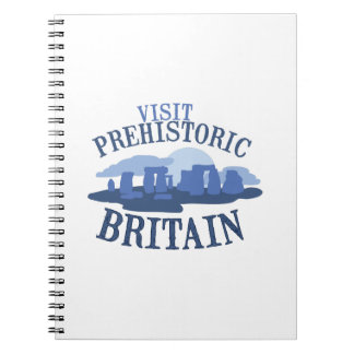 Visit Prehistoric Britain Notebook