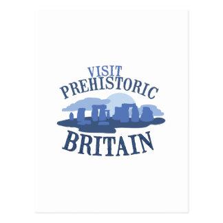 Visit Prehistoric Britain Postcard