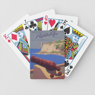 Visit Puerto Rico Bicycle Playing Cards
