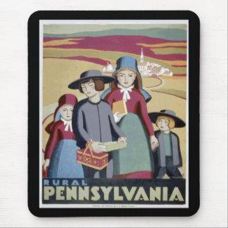 Visit Rural Pennsylvania WPA 1940 Mouse Pad