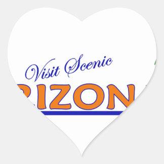 Visit Scenic Arizona Heart Sticker