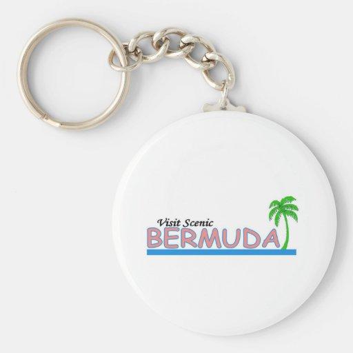 Visit Scenic Bermuda Keychains
