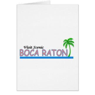 Visit Scenic Boca Raton Card
