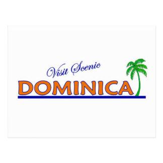 Visit Scenic Dominica Postcard